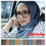Hijab Pashmina Plain Turkey