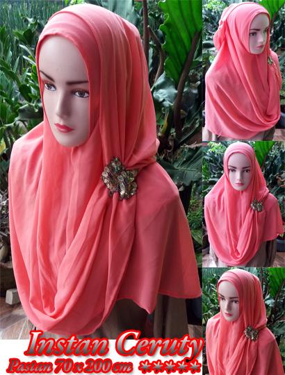 Pastan Instan ceruty 30 33 45 540. sg Hijab 70cmx200cm