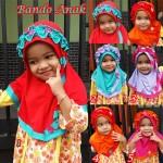 Jilbab Bando Anak