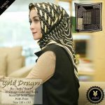 Gold Dragon 27 30 40 490 SG JIlbab design 3