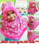 Jilbab Anak Syria HK Bulu