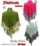 Hijab SegiEmpat Platinum 2004