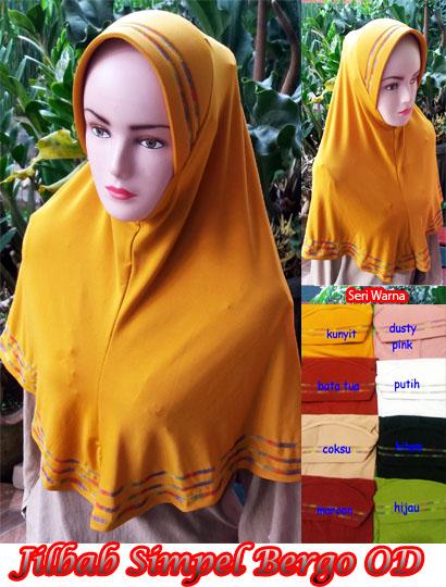 Seri Jilbab Simple Bergo OD SG Jilbab