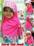 Jilbab Kerut Tali Anak