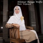 Khimar Bunga Wolfis
