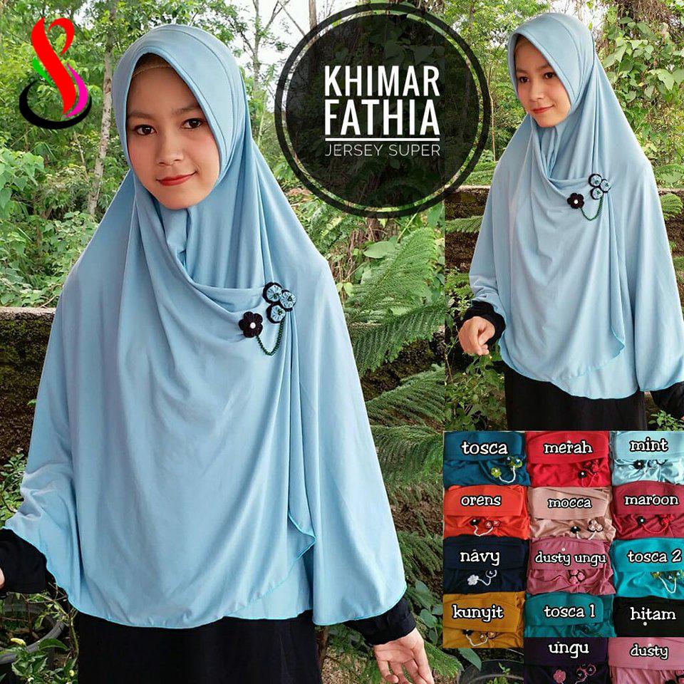khimar Fathia 41 44 55 760 SG Jilbab