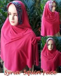 Jilbab Syria Squin Face