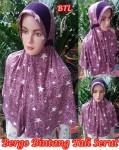 Jilbab Bergo Bintang Tali Serut