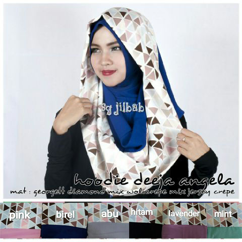 Deeja Angela SG Jilbab