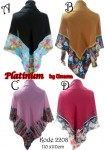 Hijab SegiEmpat Platinum 2208