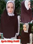 Jilbab Syria Risty Putih