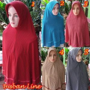 Kerudung Bisban Line