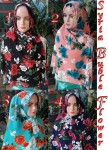 Kerudung Syria Buble Flower
