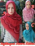 Hijab SegiEmpat Azara Katun