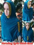 Jilbab Syria Renda Emas