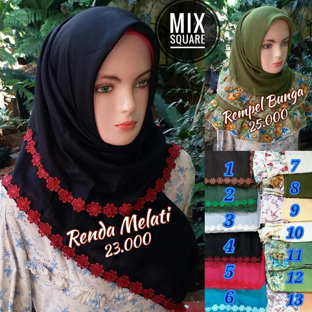 Mix Square SG Jilbab