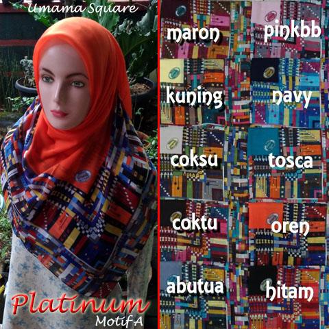 Platinum Umama Motif A SG Jilbab