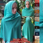 Jilbab Bergo Cutting Bubblepop