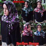 Hijab Berlian Bunga