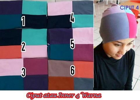 Ciput 4 Warna SG Jilbab