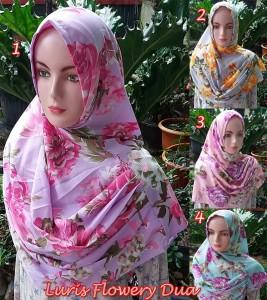 Hijab Luris Flowery Dua
