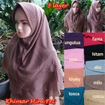 Khimar Mini Pet 3 Layers