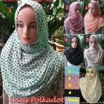 Hijab Luris Polkadot