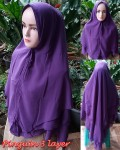 Khimar Pinguin 3 layer