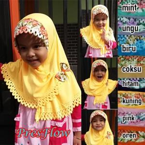 Jilbab Anak Press Flow