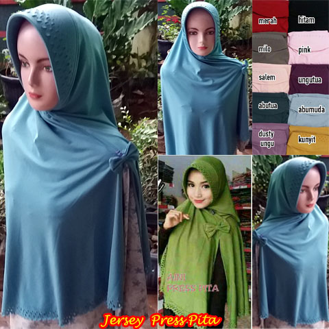 Jersey Press Pita SG Jilbab 24 Feb'17