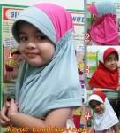 Jilbab Anak Kerut Combine