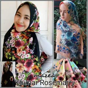 Kerudung Khimar Rosemarry