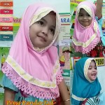 Jilbab Press Renda Kid