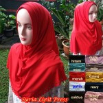 Hijab Syria Lipit Press