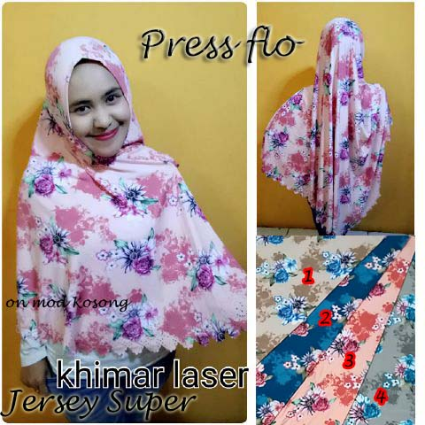 Khimar Press Flo SG Jilbab