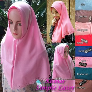 Khimar Simple Laser
