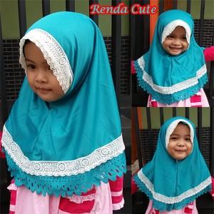 Kerudung Renda Cute