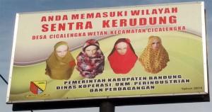 Anda Memasuki Cica-Kancung Sentra Kerudung Trendsetter Hijab Indonesia