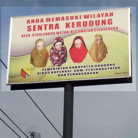 Anda Memasuki Cica-Kancung Sentra Kerudung Trendsetter Hijab Indonesia SG Jilbab