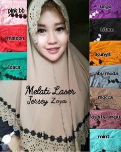 Hijab Melati Laser