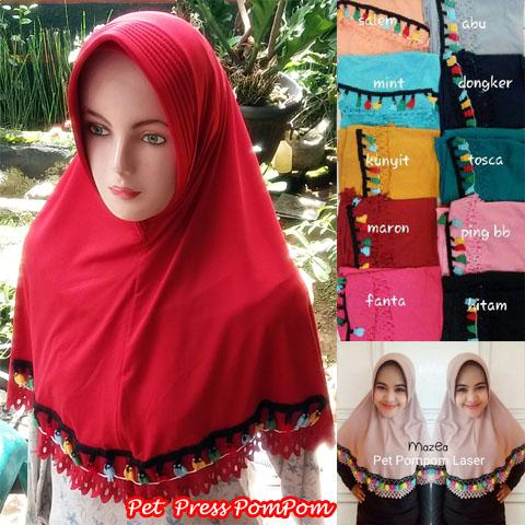 Pet Press PomPom 31-34-45-560 SG Jilbab