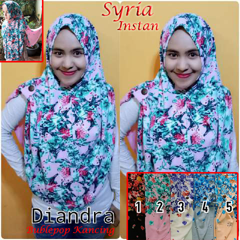 Syria Diandra SG Jilbab