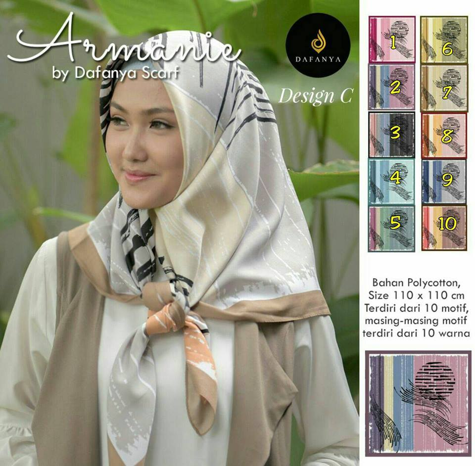Armanie 27 30 38 480 Original by Dafanya SG Jilbab Design C