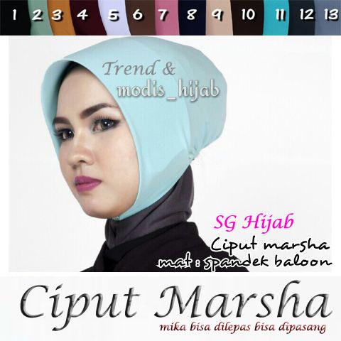Ciput Marsha sg hijab 17 April'17
