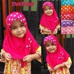 Jilbab DotPress Anak