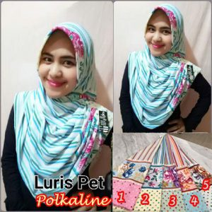 Hijab Luris Polkaline