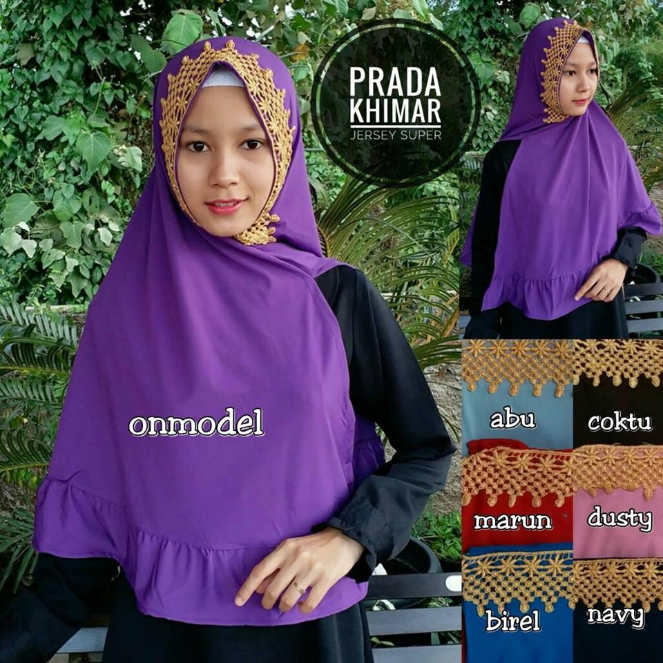 Prada Khimar 50 53 65 930 SG SG Jilbab