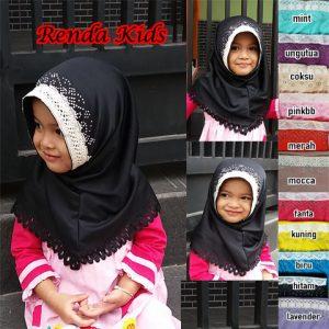Jilbab Renda Kids