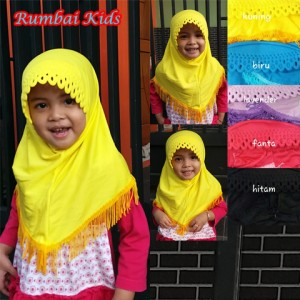 Jilbab Rumbai Kids