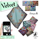 Velvet Square Design 6 By Umama SG Jilbab